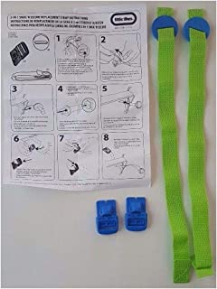 Reliable Tikes 2in1 Snug N Secure Swing Replacement Straps Buckles/Harness Green Quick Arrive