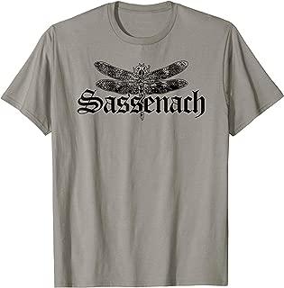 Outlander Shirt Sassenach Dragonfly Clair Symbol T-Shirt