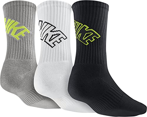 Nike Crew Chaussettes 3ppk Dri Fit Fly