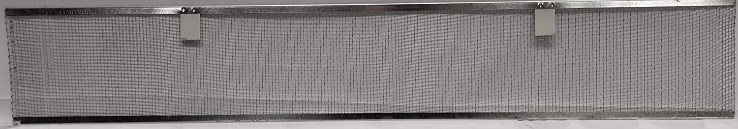 STEELCO Gutter Our shop most popular Guard 4-Mesh Limited price sale Galvanized Screen 10-Piece