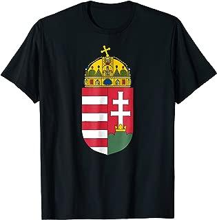 Hungary T-shirt Coat of arms Tee Flag souvenir Budapest