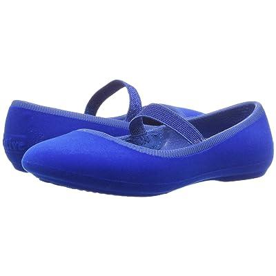 Native Kids Shoes Margot Velvet (Toddler/Little Kid) (Victoria Blue) Girls Shoes