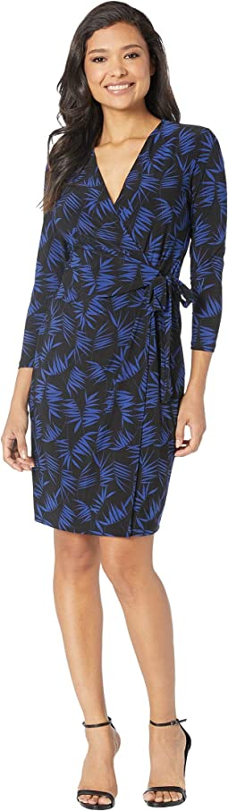 Delphine Faux Wrap Dress