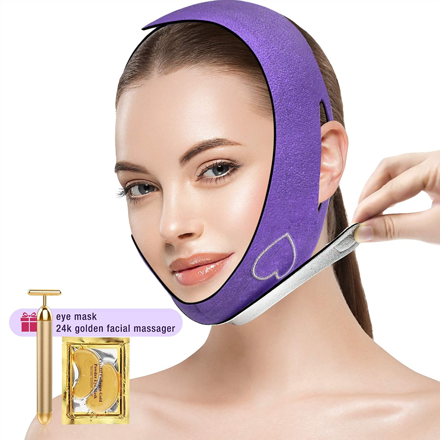 Face Slimming Strap Double Chin Reducer Free Reusable lin 5 popular Pain V Popular shop is the lowest price challenge