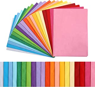 """KESOTE 100 Sheets 20 Assorted 14"""" x 20"""" Light Colors Craft Tissue Paper Bulk for Gift Bags, Gift Wrapping, DIY Tissue Pape..."""