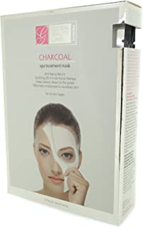 Global Beauty Care Premium Charcoal Spa Treatment Mask - 5 Facial Treatments