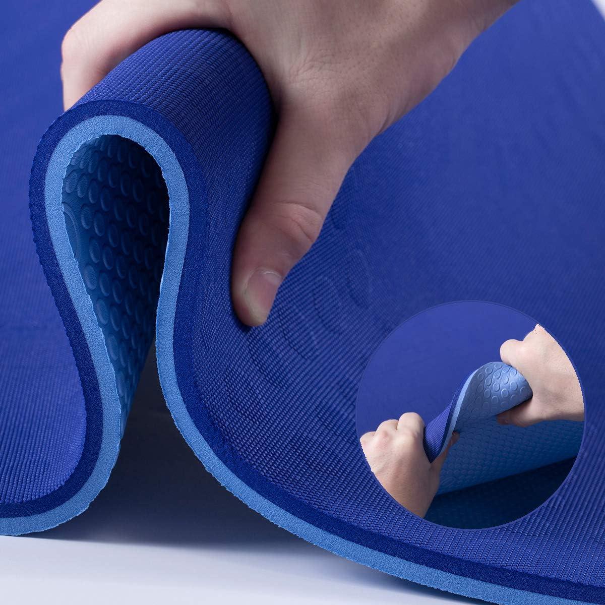 JELS Extra Thick Yoga Mat 2 5 Desig inch Quality inspection Non service 3D Slip Ergonomic