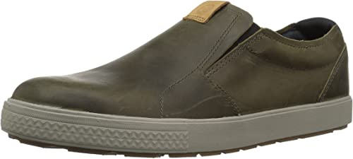 Merrell Hommes's Barkley MOC Moccasin, Dusty Olive, 11 M US
