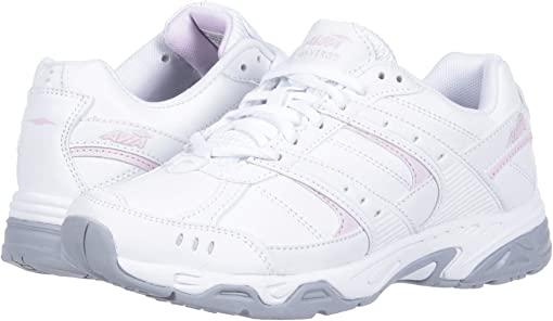 Bright White/Avia Pink/Silver/Steel Grey