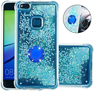 Huawei P10 Lite Case Soft,Hllycr Huawei P10 Lite Back Cover Shock Absorption TPU Rubber Gel #HYYB041701