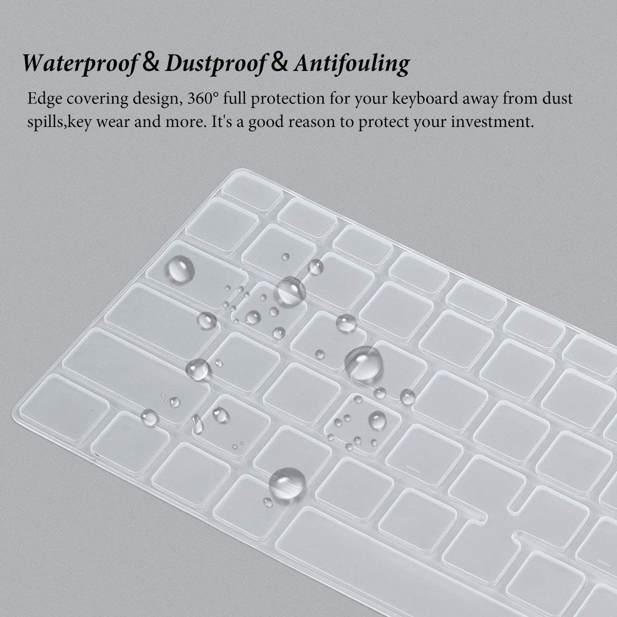 Keyboard Cover for Dell Latitude 5400 5410 14 inch Laptop with Trackpoint,14 Dell Latitude Keyboard Protector Skin Transparency Laptop Accessories