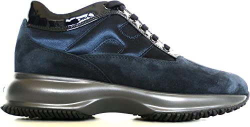 Hogan Scarpe Sneaker Donna Interactive Allacciata ...