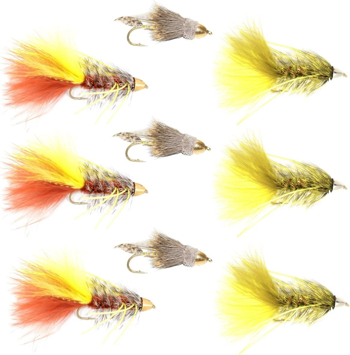 The Fly Fishing Selling rankings Place Cone Head Rubber Muddler Las Vegas Mall Minnow Legged and