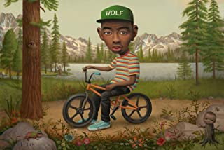 Rock-Poster Tyler, The Creator Shares Cover Art Promo Posters and Prints 11x17