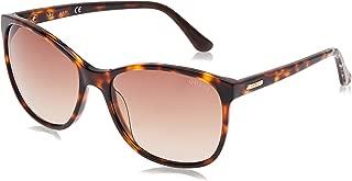 Guess Women's Fashion Sun GU 7426 52F Sunglasses, Brown Gradient, 58 mm