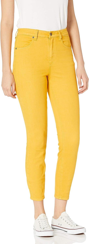 Volcom Womens Liberator High Rise Denim Jean Pants Regular /& Plus