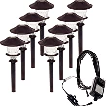 Paradise 8 Pack Aluminum LED Low Voltage Path Light Kit (Oiled Bronze)