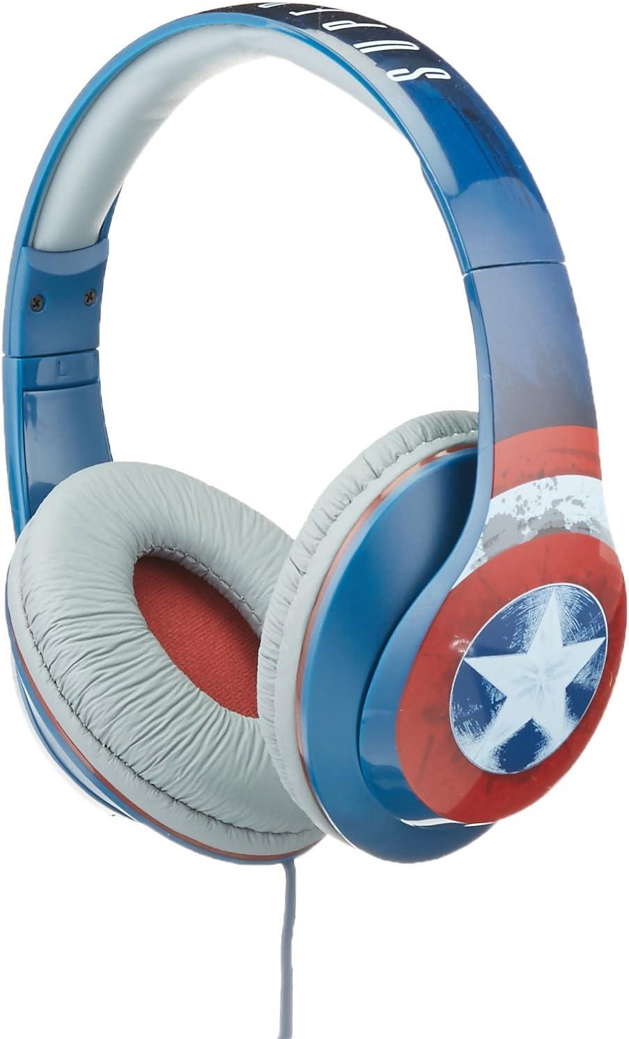 Ekids Marvel Captain America Headphones With Microphone Elektronik