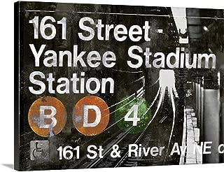 NYC Subway Station II Canvas Wall Art Print, 24