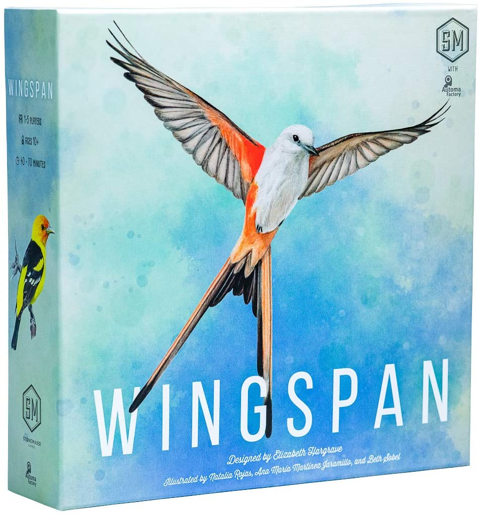 Wingspan game. Click to view description.