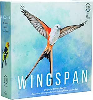 Stonemaier Games STM910 Wingspan Board Game - A Bird-Collection, Engine-Building for 1-5 Players, Ages 14+