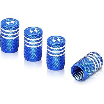 4Pcs Aluminium car wheel tyre valve stems air dust cover screw cap 8 colors VUME
