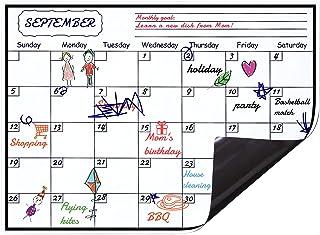 Levoit Monthly Planner Whiteboard Fridge Calendar 2021 Magnetic Monthly Planner Calendar for Fridge 40x30cm, Australia Mon...
