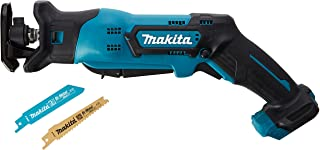 Makita JR103DZ 12V Max Li-Ion CXT Reciprocating Saw - Batteries and Charger Not Included, Blue