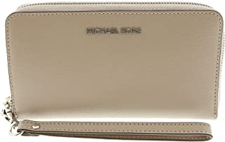 41eb5db36763 Michael Kors Women's Jet Set Travel Large Smartphone Wristlet