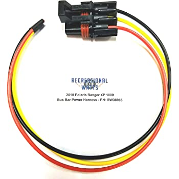 XtremeAmazing Pack of 4 Battery Quick Connect Disconnect Wire Harness Plug Kit for Recovery Winch or Trailer,50A