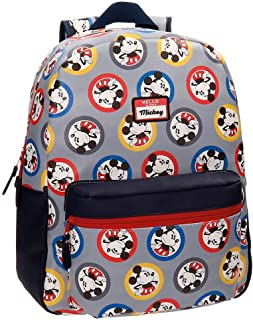 Disney Mickey Circles Sac à dos Multicolore 32x42x12 cms Cuir synthétique 19.2L