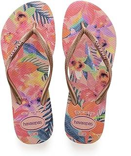 Havaianas Hav. Slim Floral, Tongs Femme