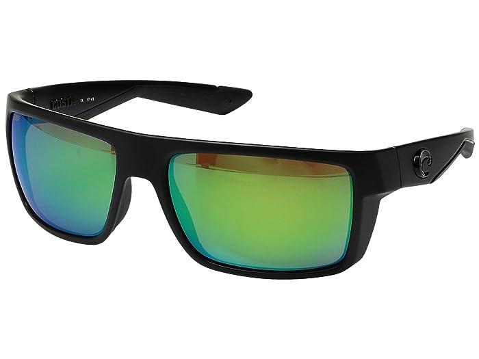 Costa  Motu (Blackout Frame/Green Mirror 580P) Fashion Sunglasses
