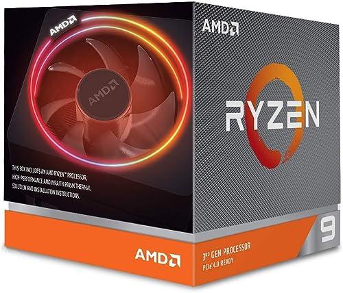 lowest AMD Ryzen 9 3900X 12-core, 24-thread unlocked online sale desktop processor with Wraith Prism LED popular Cooler outlet online sale