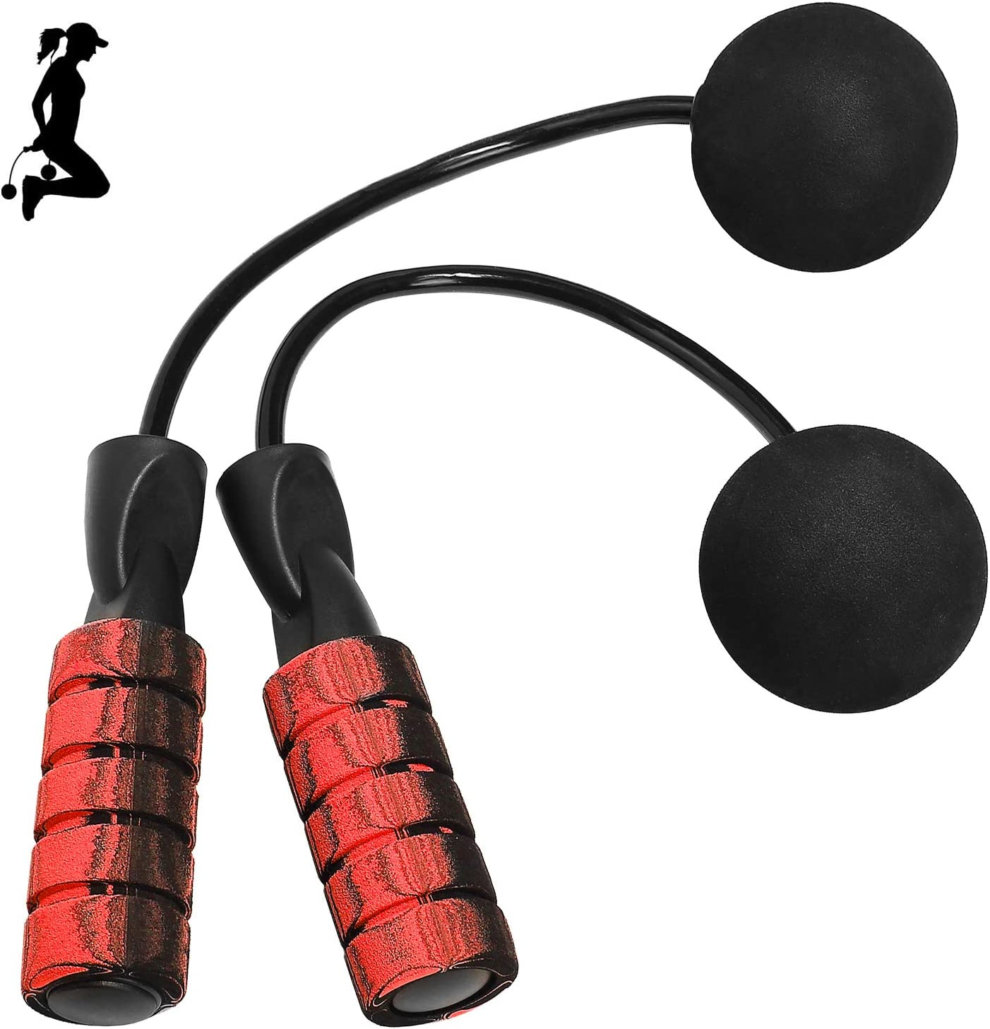 Cordless Jump Rope for Fitness Weighted Ropeless Jump Ropes for ...