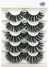 5Pairs 3D Faux Mink Eyelashes False Lashes Wispy Thick Lashes Handmade Soft Eye Makeup Eyelashes Extension Tools,Jkx80,Germany