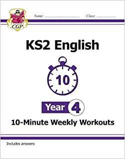 KS2 English 10-Minute Weekly Workouts - Year 4