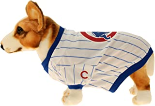 Sporty K9 MLB Baseball Dog Jersey, Chicago Cubs Small