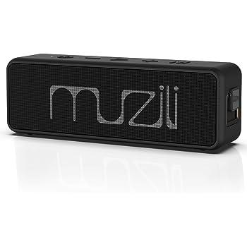 【最新版】Muzili Bluetoothスピーカー speaker 高音質Hi-Fiサウンド 完全ワイヤレスステレオ対応24H連続再生 IPX7完全防水 20M長距離伝送 音声コントロール機能付き