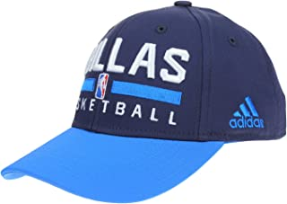adidas NBA Youth Boys Dallas Mavericks Snapback Team Practice Hat, Purple