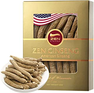 ON Sale American Wisconsin Ginseng — Small Long Root (4oz/Box) ???/??? Premium Quality Panax Ginseng. Boosts Body Immunity, Energy for Man & Women