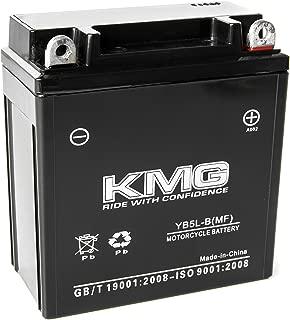 KMG 12 Volts 5Ah Replacement Battery for Honda C70 Passport 1982-1983