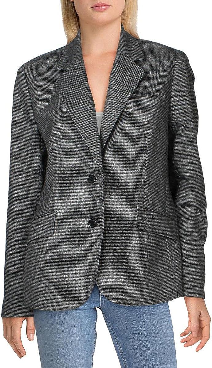 Kasper Womens Suit Separate Office Wear Two-Button Blazer