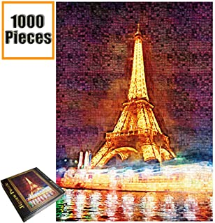 Jigsaw Puzzles 1000 Pieces Vincent Van Gogh Artwork Art for Teen Adult Grown Up Puzzles Large Size Toy Educational Games Gift Jigsaw Puzzle Jigsaw Puzzle 1000 PCS (Eiffel Tower)