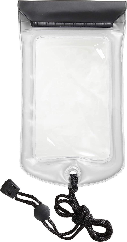 Lewis N. Clark WaterSeals Triple Seal Floating Waterproof Pouch + Dry Bag for Cell Phone, Great for Kayak, Canoe, Pool, Beach