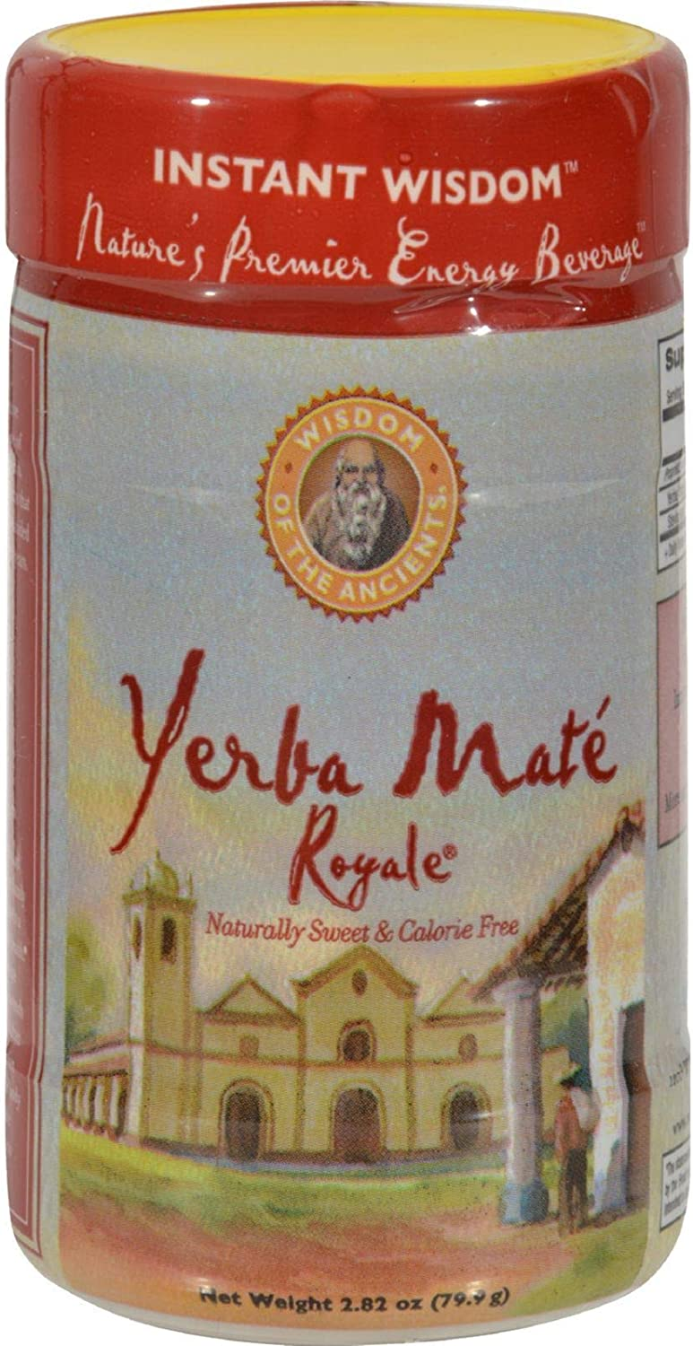 Wisdom Natural YerbaMate Royale Instant Tea Directly managed store - 2.82 Herbal oz Now free shipping