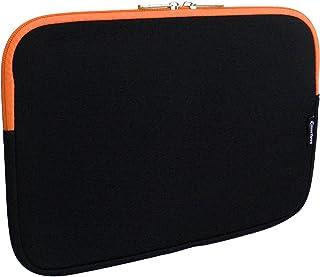 12.5-14.1 Pulgadas Resistente Al Agua En Zip Adecuado para Los Siguientes Dispositivos Emartbuy Carpeta Funda Estuche Neopreno De Color Medianoche Negro//Naranja Y Interior Naranja