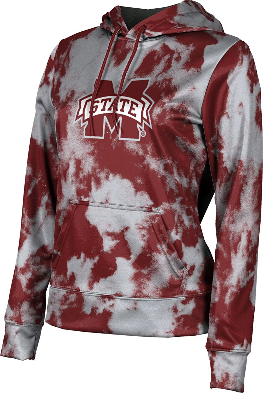 ProSphere Mississippi State University Girls' Pullover Hoodie, School Spirit Sweatshirt (Grunge)