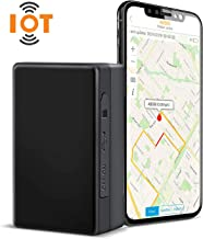 ABLEGRID GPS Tracker loT-NB CaT-M 4G 7800mAh Real-time GPS Tracking Device Small Hidden GPS Locator for Vehicle, Car, Personal, Valuable - with Global Data Card Support Mufti-Carrier Network