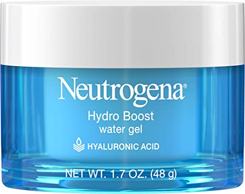 Neutrogena Hydro Boost Hyaluronic Acid Hydrating Water Gel Daily Face Moisturizer for Dry Skin, Oil-Free, Non-Comedog...